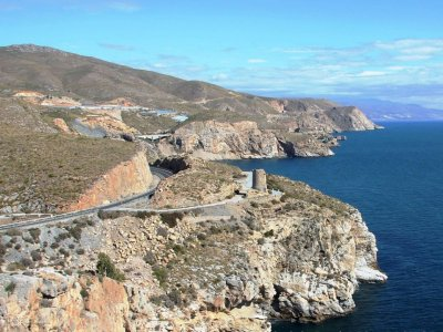Helicopter tour: Calahonda & Castell cliffs