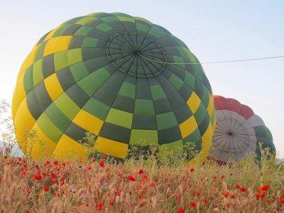 Balloon Flight Ocaña + Breakfast + Video & Pics