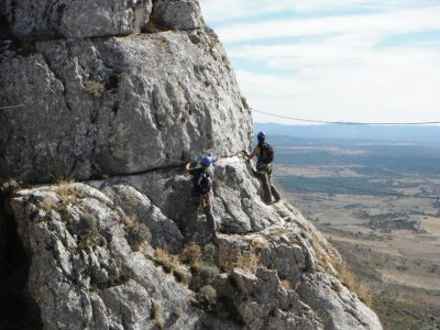 Rock climbing course, climbing arêtes, 1 day