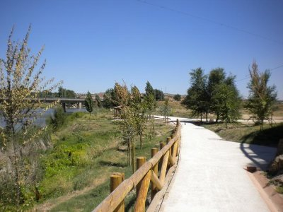 Guided bicycle route around Toledo, 2 hours