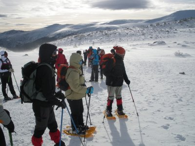 Snowshoeing in Jaca + churros with hot chocolate