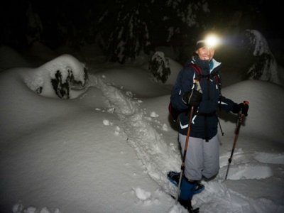 3-hour snowhoeing tours from La Tossa d'Alp