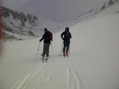 Backcountry skiing course weekend