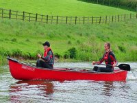 Our canoes are stable and spacious