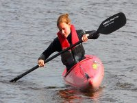 You will learn how to steer with your paddle