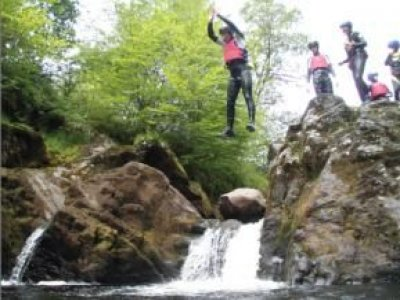 Adventure Centre for Education Canyoning