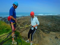 Our expert instructors will help you throughout the abseil