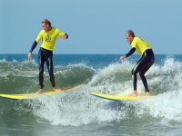 Enjoy surfing with your friends