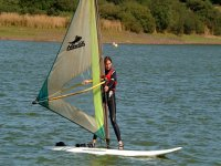 Harness the power of the wind whilst windsurfing