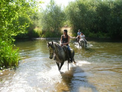 Horse route in Huerta, special gift for Christmas