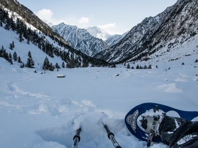 Snow shoeing Fuente Dé, 4h