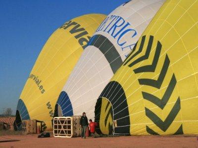 Balloon flight in Barcelona Christmas gift special