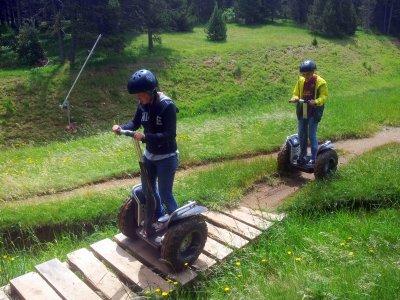 2 hour segway route in La Molina