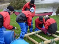 Building the raft...