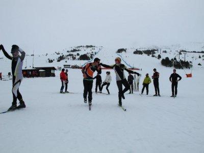 Nordic Skiing for Beginners Llanos del Hospital 1h