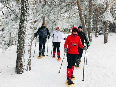 Snowshoeing to Siete Picos + Breakfast