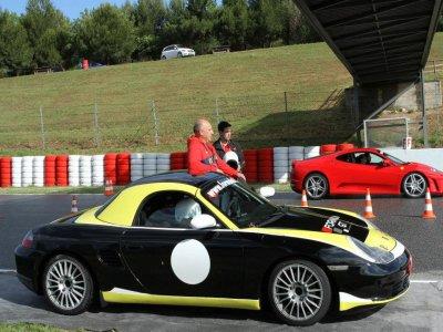 Drive a Porsche Boxster Cup 1 lap Can Padró