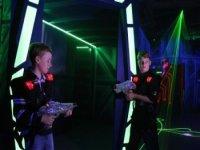 Futuristic gaming arena