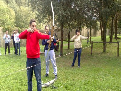 Archery + Human Football Table - Pineda de Mar