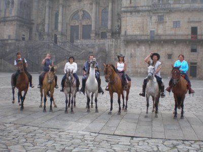 7 days Camino de Santiago at horseback
