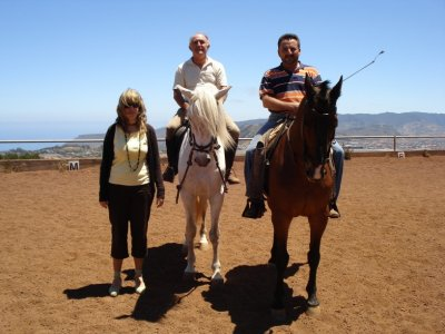 Horse riding group lesson ticket for adults