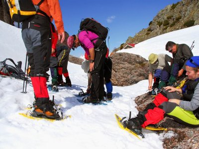 Tour with Pulkas and night in a bivouac 2 days