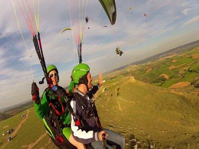 25-min Paragliding Flight Marid + Video & Photos