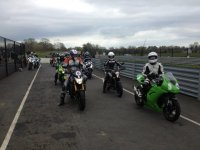 Bikes at Nutts Corner Circuit