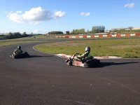 Kart Racing On The Track