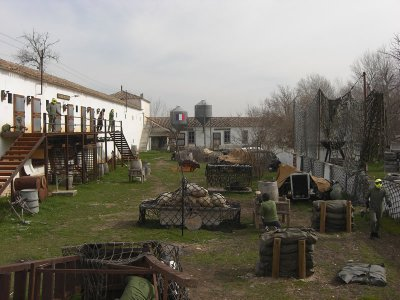 Paintball Game in Tres Cantos - 100 Balls