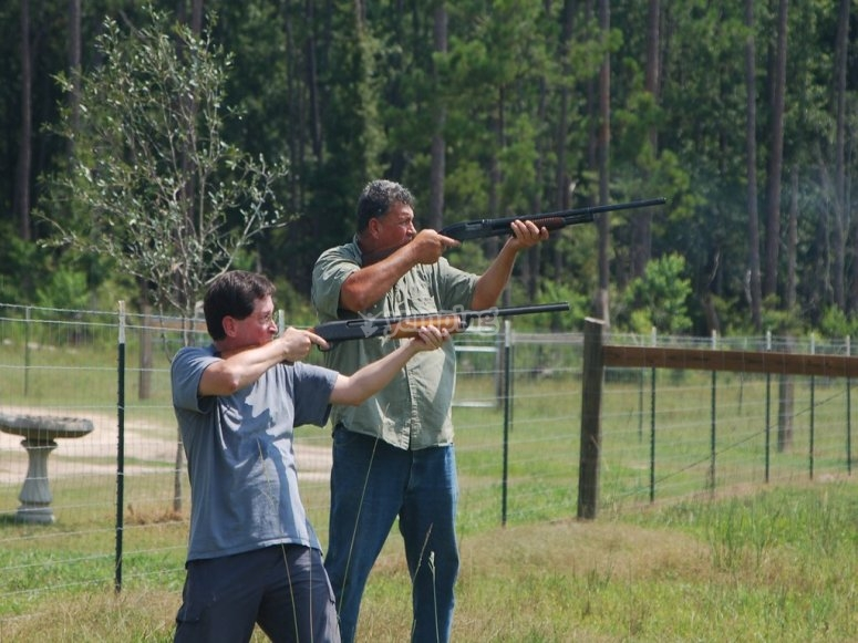 Clay Shooting Session in Wellington