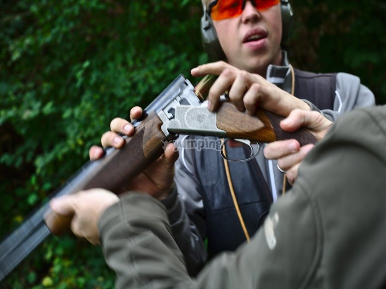 One to One Clay Shooting Lesson