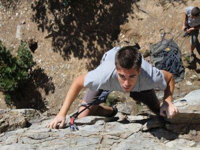 Pack climbing and stay, Sierra de Aracena