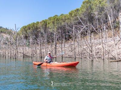 Express kayak route Aracena Reservoir, 2 hours
