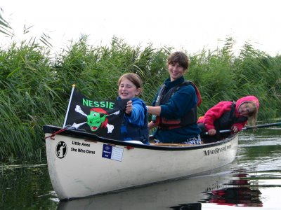 Canoeing lessons for 2 in Hertfordshire