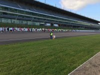The venue of Rockingham Raceway
