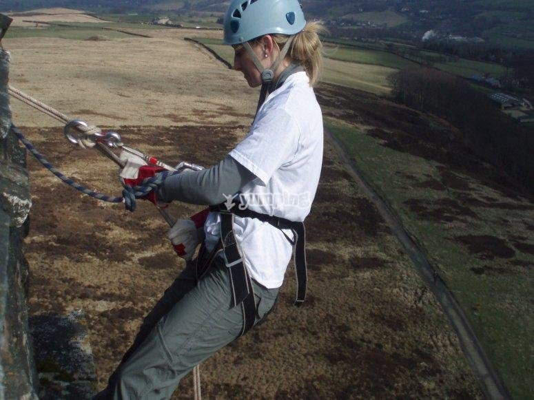 Abseiling in the UK