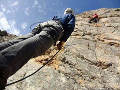 Climbing induction course, Guadarrama