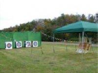 Their archery course