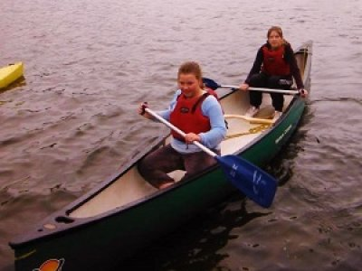Canoe Hire Talkin Tarn for half an hour