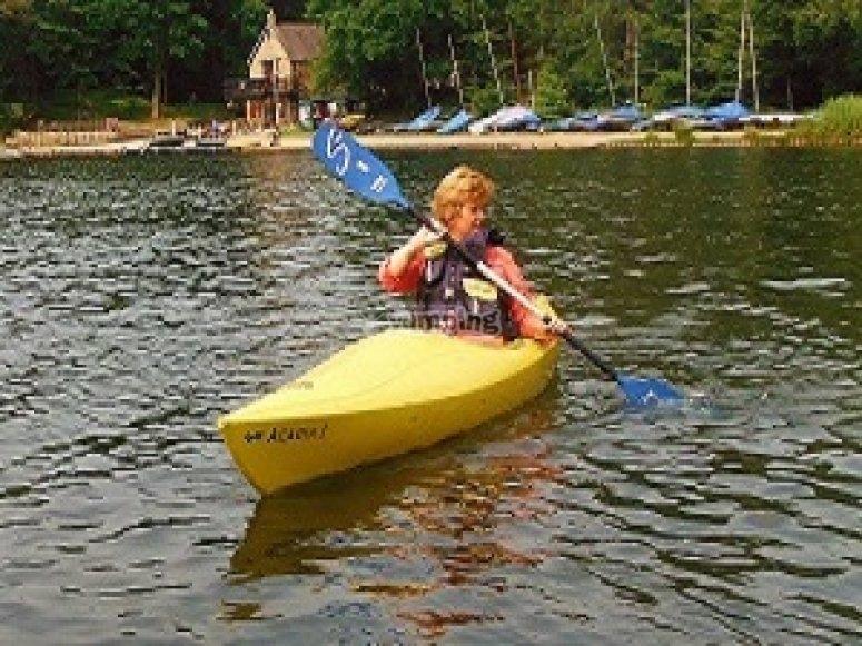 Kayaking in UK