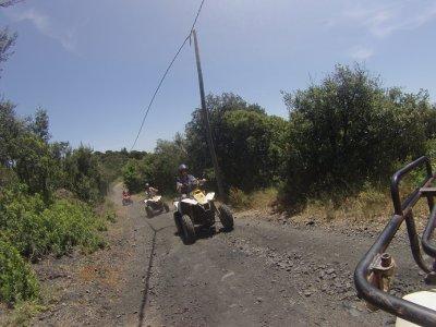 2-Seater Quad tour 2h in Natural Park Montnegre