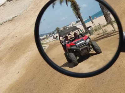 2-Seater Buggy tour 1h Natural Park Montnegre