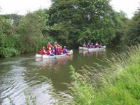Canoeing at Bradwell