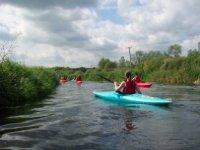 Kayaking at Bradwell