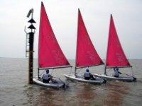Sailing at Bradwell