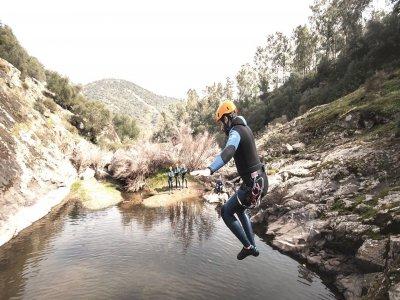 Canyoning in Sierra de Aracena 3 hours