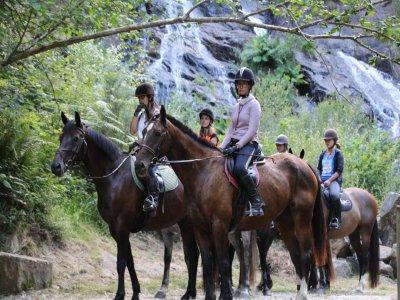 Horse ride Montañas de la Nieve + picnic 5-6h