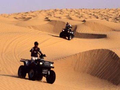 Viaje en moto Quads