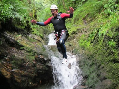 Aquatic canyoning in Asturias, +15 years old